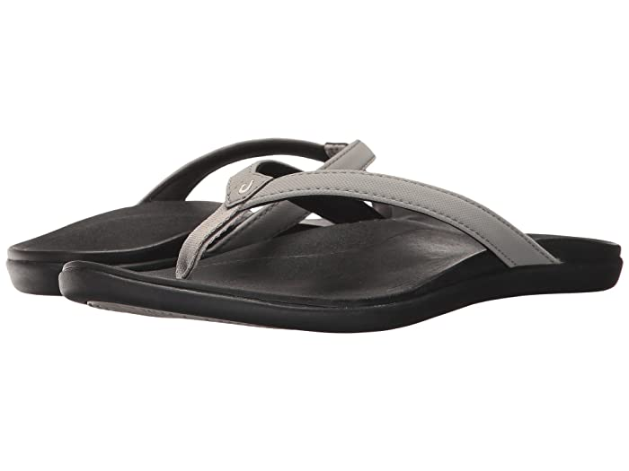 Ho'opio  Shoes (Cooler Grey/Black) Women's Sandals