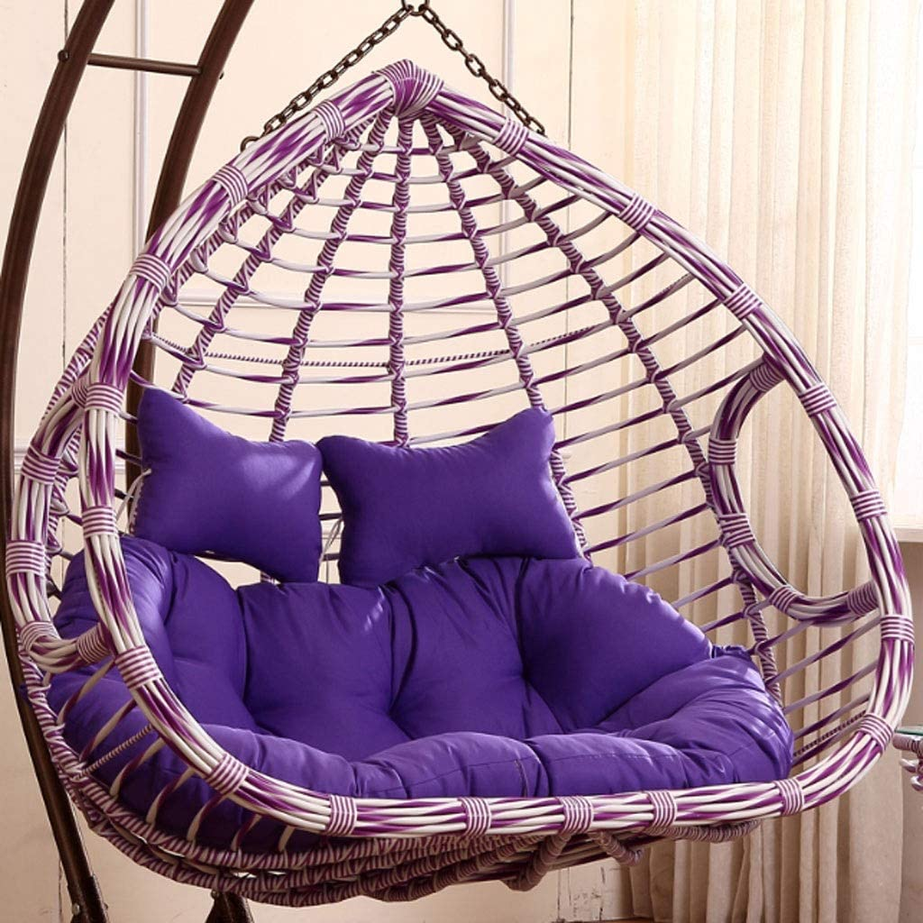 JYLJL Swing Hanging Basket Seat Outstanding Nest Egg 55% OFF Cushion Shaped Cushions