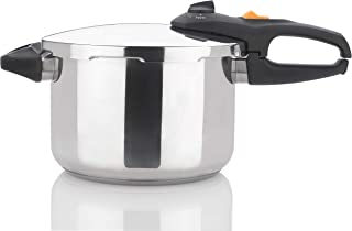 Zavor DUO 6.3 Quart Multi-Setting Pressure Cooker and Canner with Accessories - Polished Stainless Steel (ZCWDU02)