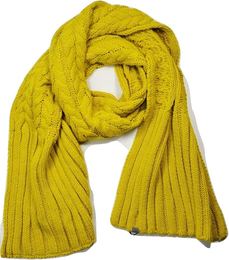 Mustard Product Yellow Chunky Cable Knit Wrap Shawl Thick Scarf Super-cheap