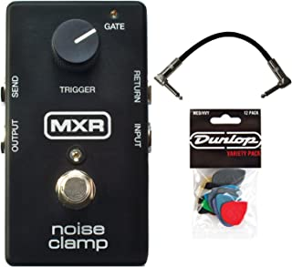MXR M195 Noise Clamp Pedal w/ Patch Cable and Pick Pack