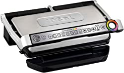 T-fal Stainless Steel Large Indoor Electric Grill