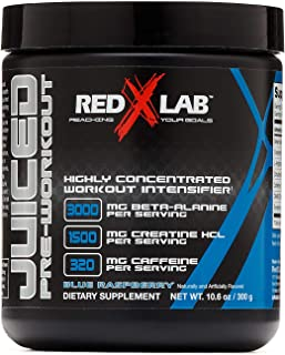 Sponsored Ad - Red X Lab Juiced Pre-Workout - Blue Raspberry