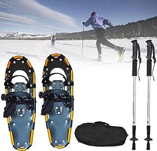 SKINSTAR Schneeschuh 25 INCH Schneeschuhwandern Schneeschuhe bis 100 kg grey