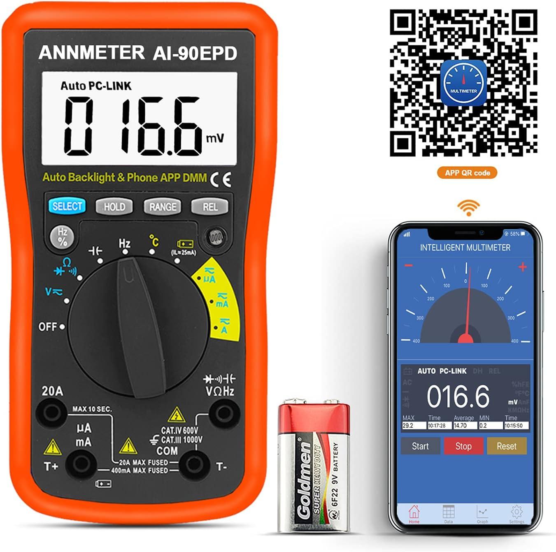 Digital Multimeter-4000 Counts TRMS Ranking TOP5 AC DC Meter Super intense SALE Current Voltage