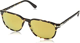 Persol PO3019S 985/W4 Tortoise PO3019S Square Sunglasses Lens Category 2 Lens M