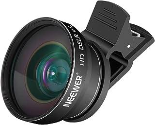 Neewer 2-in-1teléfono móvil Lente Kit043x Gran Angular y Macro 10x Samsung Galaxy S3Mini i8190teléfono móvil Kit de Lente de cámara para Smartphones Android y iPhone