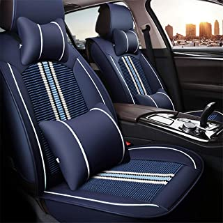 Car Seat Covers for Mazda 3 6 CX-3 CX-4 CX-5 CX-7 Axela Atenza Leatherette Car Front and Rear Seat Protector Airbag Compatible Wear-Resistant Waterproof Black and Red