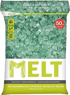 Snow Joe MELT50EB MELT 50 Lb. Resealable Bag Premium Environmentally-Friendly Blend Ice Melter w/ CMA