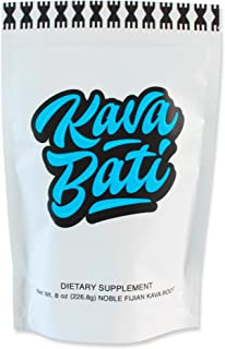 Kavafied KAVA BATI - Premium Noble Fijian Kava Root (Waka) - Natural Stress and Anxiety Relief - Promotes B...