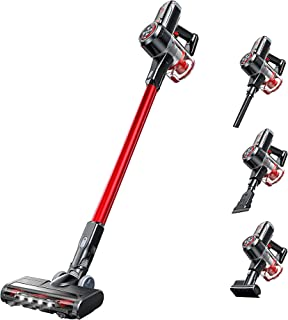 Kyvol Cordless Vacuum Cleaner, 6-in-1 25000PA Stick Vacuum, 300W Strong Suction, 40Mins Runtime, Lightweight, Ultra-Quiet,...