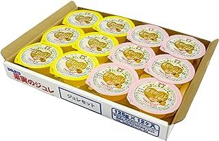 【九州旬食館】 果実のジュレ 国産 甘夏 ・ 不知火 みかん ジュレ (コラーゲン 入り)× 12個 詰め合わせ セット