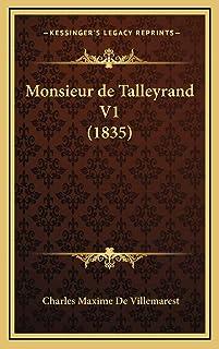 Monsieur de Talleyrand V1 (1835)