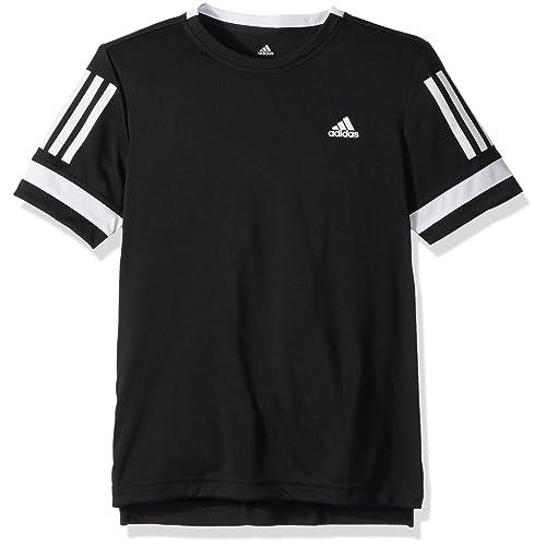 adidas Damen Tennis Club T Shirt, BlackWhite, L: