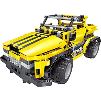 Teknotoys Active Bricks RC 2in1 SUV /& Roadster rot