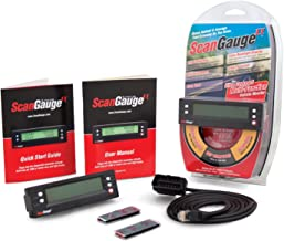ScanGauge - SG2 II Ultra Compact 3-in-1 Automotive Computer with Customizable Real-Time Fuel Economy Digital Gauges