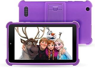 "Venturer Small Wonder 7"" Android Kids Tablet with Disney Books, Bumper Case & Google Play, 16GB Storage & 2GB RAM (Purple)"