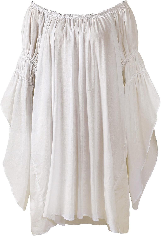 ReminisceBoutique Renaissance Medieval Peasant Dress up Pirate Faire Celtic Blouse