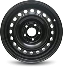 Road Ready Car Wheel Fits 2003-2007 Honda Accord 16 Inch 5 Lug Black Steel Rim Fits R16 Tire - Exact OEM Replacement - Full-Size Spare