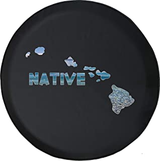 Spare Tire Cover Hawaiian Island Ocean Paradise Native fits SUV or RV Accessories Camper Size 33 Inch