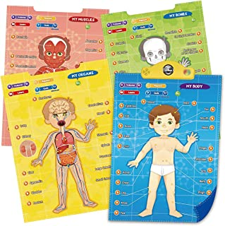 Interactive My Body Discovery TG706 - Educational Toy Gift for Boys & Girls Aged 6 7 8 9+