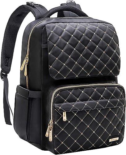 Diaper Bag Backpack, Multifunction Waterproof Baby Diaper Bag Large Capacity, Travel Diaper Backpack for Dad & Mom-Black