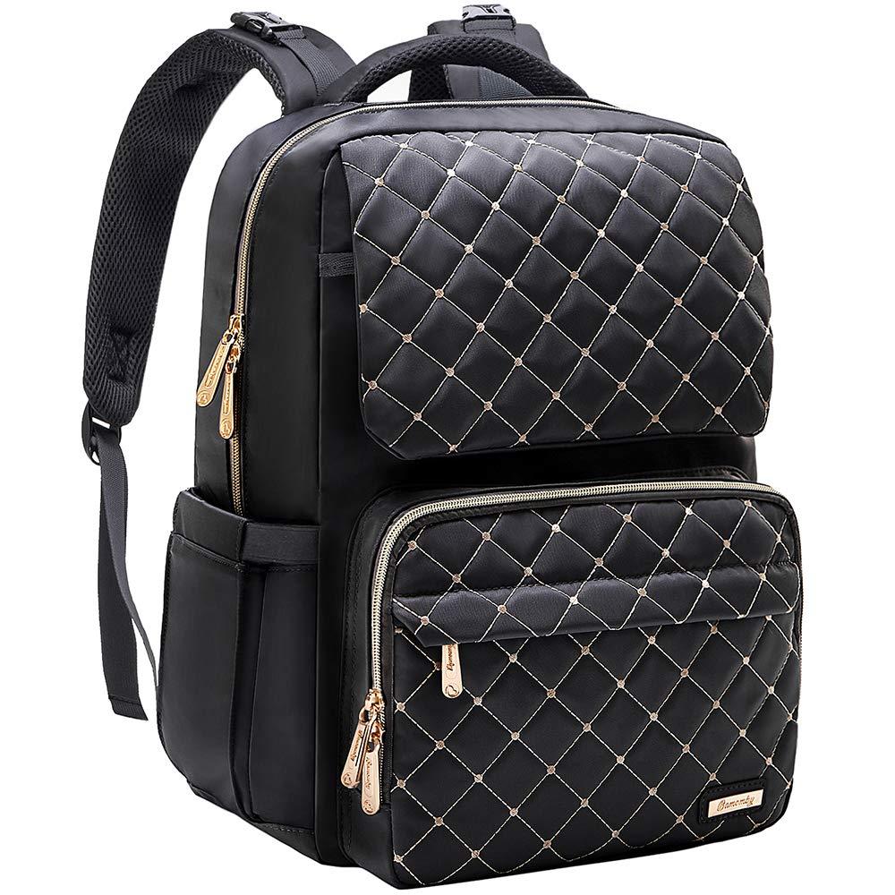 Backpack Multi Function Waterproof Insulated Girls Black
