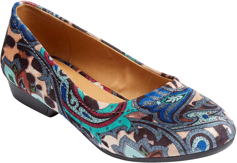 Popular brand Sale special price Comfortview Women's Wide Width Jaiden Flat The