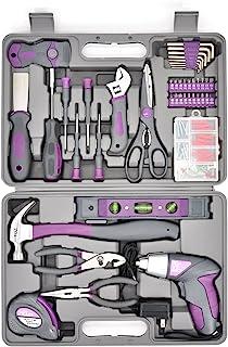 Werktough 44PCS 3.6V/4V Cordless Screwdriver Tool Kit Set...