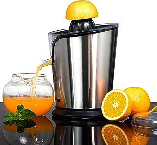 Geepas 100W Citrus Juicer Electric Orange Juicer | Professional Brushed Stainless Steel Fruit Juicer | Squeezes Oranges Le...
