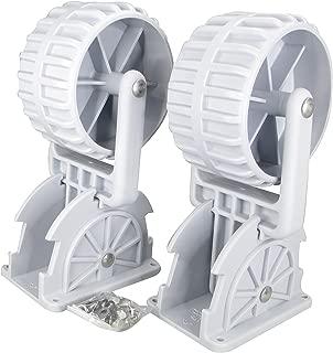 retractable boat wheels