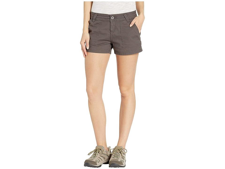 Prana Tess Shorts 3 (Granite) Women