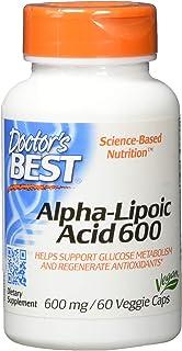Doctors Best, Alpha Lipoic Acid 600mg, 60 Count