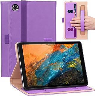 Bluetooth Tablet Borsa-Lenovo TAB e8 8 Pollici Guscio Tastiera Keyboard Viola 8