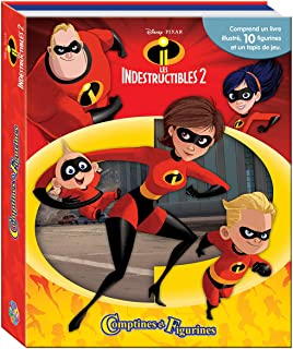 The Incredibles PHIDAL–2Book Set with 12figures +, 9782764344606, Multi Rug