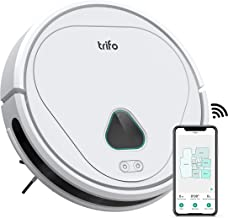 Trifo Max Robot Vacuum Cleaner, with 3000Pa Strong Suction, 120-minute Runtime, Self-Charging, Washable Filter and dustbin, Carpet, Hardwood Floor and Pet Hair, Home Security Camera, Video Recording