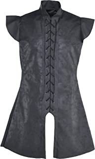 AMSCAN Black Warrior Tunic Halloween Costume Accessory for Adults, One Size
