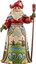 "Jim Shore Heartwood Creek Dutch Santa Stone Resin Figurine, 7"""