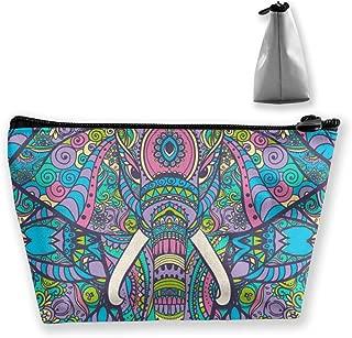 Cosmetic Bag Elephant Makeup Bag Pouch Small Handbag Travel Case Toiletry Organizer