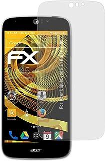 atFoliX Skärmskydd är kompatibel med Acer Liquid Jade Z (Plus) Skyddsfilm, antireflekterande och stötdämpande FX Film (3X)