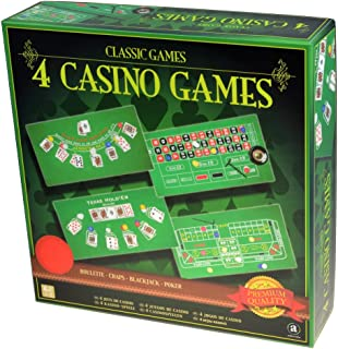 Merchant Ambassador Classic Games Collection - 4 Casino Games Set
