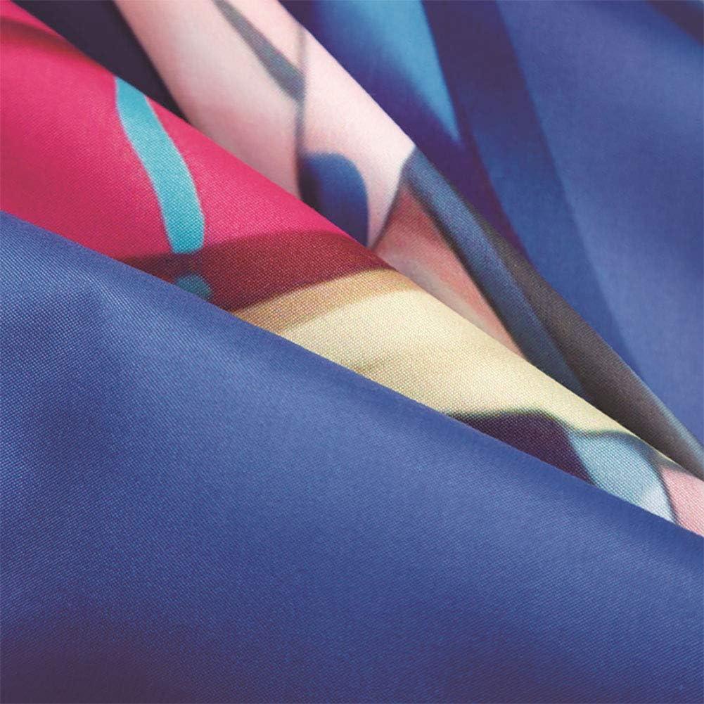 LTJY Literie 3 pièces Impression 3D Sœur Royale Lolita Microfibre Textile de Maison (1 Housse de Couette 2 taies d'oreiller) AUSingle