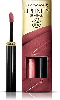 Max Factor Lipfinity Lip Colour Lipstick, 2-step Long Lasting, 108 Frivolous, 2.3 ml + 1.9 g