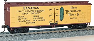 Accurail Model Trains Ho Early 40' Wood Refrigerator Cars (URTX/Bananas Fruit Dispatch Company)