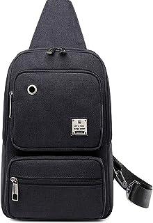 BISONDENIM ボディーバッグ メンズ ワンショルダー 大容量防水 ショルダーバッグ 人気軽量斜め掛けバッグ
