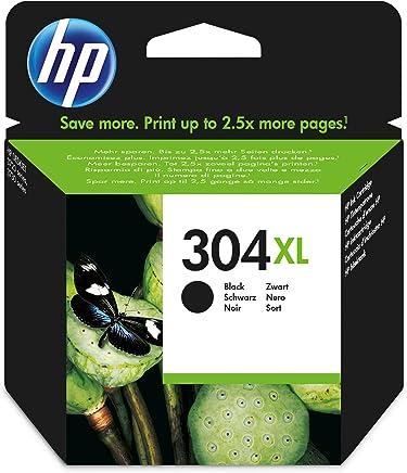 HP 304XL Cartouche Noir Authentique Grande Capacité (N9K08AE)
