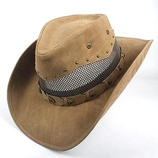 HaiNing Zheng Western Cowboy Hat For Men Women Cowgirl Jazz Cap Wide Brim Sun Caps Sombrero