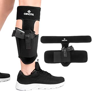 Ankle Holster For Concealed Carry, Leg Carry Pistols Gun Holsters with Magazine Pocket..