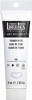 Liquitex Professional Heavy Body Acrylic Paint, 2-oz Tube, Titanium White