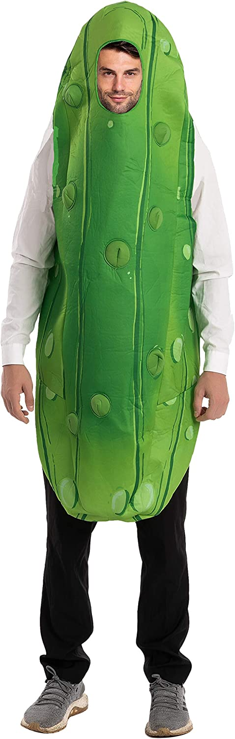 Pickle Jumpsuit Costume for Adult Halloween Trick-or-Treating